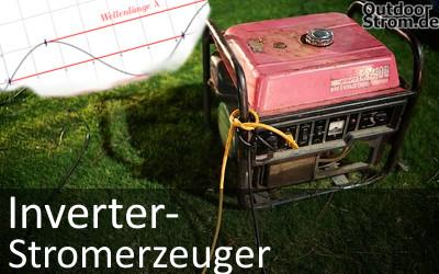 Inverter-Stromgenerator mit Sinuswelle